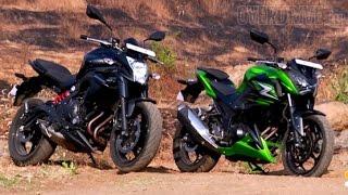 getlinkyoutube.com-2015 Kawasaki ER-6n and Z250 - First Ride Review (India)