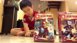 getlinkyoutube.com-เลโก้ Ironman 3
