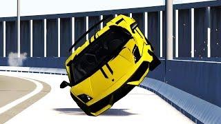 Luxury & Sport Car Crashes Compilation #3 - BeamNG.Drive •ShowMik