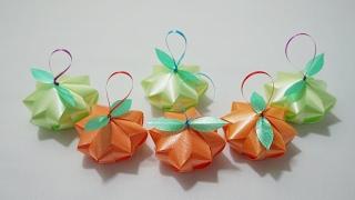getlinkyoutube.com-พับเหรียญโปรยทาน ลูกมะยม ( Star goose berry )