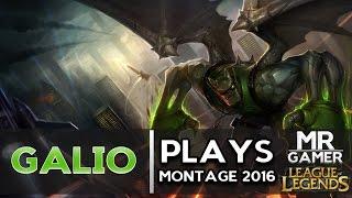 getlinkyoutube.com-Galio Plays Montage 2016 (League of Legends)