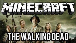 getlinkyoutube.com-The Walking Dead - MINECRAFT MOD