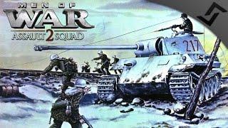 getlinkyoutube.com-3 Veteran Panthers vs Sherman Jumbo Waves - Men of War: Assault Squad 2 Robz Mod Wave Defense!