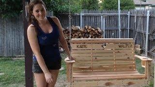 getlinkyoutube.com-DIY Porch Swing