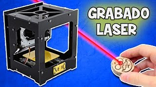 getlinkyoutube.com-Como hacer un Grabado Laser   Maquina para Grabar en Laser