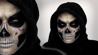 getlinkyoutube.com-Grim Reaper Makeup Tutorial For Halloween | Shonagh Scott | ShowMe MakeUp