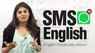 getlinkyoutube.com-SMS English ( Lesson)  - Modern English abbreviations and Shortened text messages