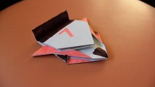 getlinkyoutube.com-Как сделать машинку из бумаги.