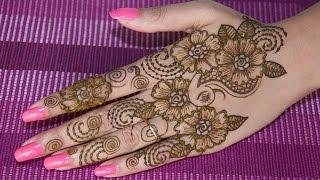 getlinkyoutube.com-#1 DIY Henna Design 2015 | Henna/Mehndi Tutorial