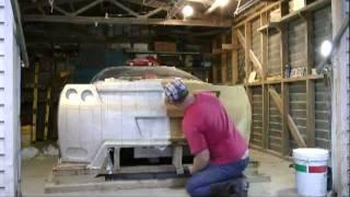 getlinkyoutube.com-CLAY SCULPTING a Concept Ferrari Rear End - Exotic JZ COBRA