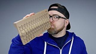 getlinkyoutube.com-A Keyboard Made Of Wood?