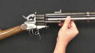 getlinkyoutube.com-LeMat Centerfire Pistol and Carbine at RIA