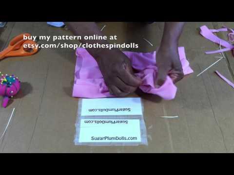 SugarPlum Dolls Sewing patterns for children part 3