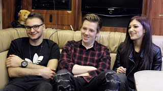 The Permanent Rain Press Interview with Against The Current