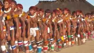 getlinkyoutube.com-Aldeia kamaiurá territorio Xingu -Julho de 2011.