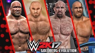 WWE 2K17 - Goldberg Entrance Evolution! ( WWE WrestleMania XIX To WWE 2K17 )