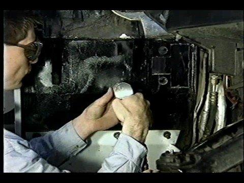Расположение датчика скорости в Хаммер H1