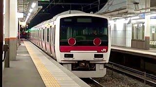 getlinkyoutube.com-【響き渡る汽笛】E331系廃車回送 配9433レ平田駅にて