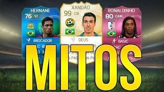 TIME DOS MITOS BRASILEIROS - FIFA 15 Ultimate Team