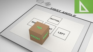 Third Angle Projection Vs First Angle Projection 3D animation Part 1