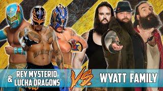 getlinkyoutube.com-Rey Mysterio & Kalisto And Sin Cara VS Bray Wyatt & Luke Harper And Braun Strowman (WWE 2K16)
