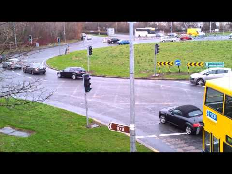 Traffic and cars in Ireland
