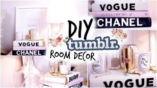 getlinkyoutube.com-Fall DIY Tumblr Room Decor! Cozy Fall Nightstand!