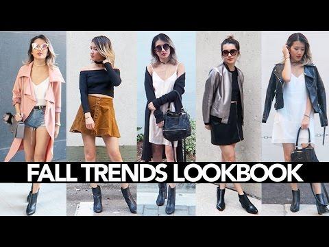 Fall Trends Lookbook 2016 (COLLAB w/FASHIONBYALLY) || Sylvia Jade