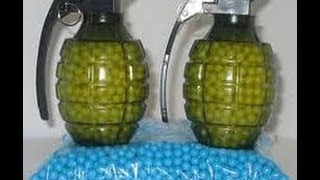 How to make an airsoft grenade with out firecrackers