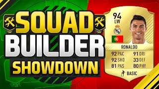 getlinkyoutube.com-FIFA 17 SQUAD BUILDER SHOWDOWN!!! CRISTIANO RONALDO!!! 94 Rated CR7 Squad Duel