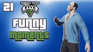 getlinkyoutube.com-GTA 5 Online Funny Moments Ep. 21 (Hair Glitch, Bike Glitches, Flying Vehicles)