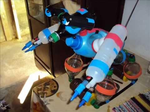 Robô de Material Reciclável
