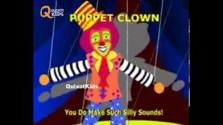 getlinkyoutube.com-Puppet Clown - Animated Nursery Rhymes For Kids