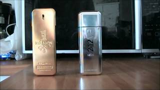 getlinkyoutube.com-Fragrance VERSUS - 1 Million VS 212 VIP Men