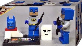 getlinkyoutube.com-lele 배트맨 저스티스리그 마인크래프트 네모 버전 레고 짝퉁 피규어 Lego knockoff batman Minecraft Justic League