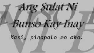 getlinkyoutube.com-Sulat Ni Bunso Kay Inay (Original)