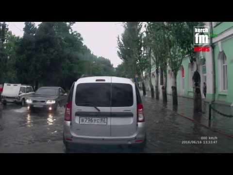Анексоване місто Керч затопило: з'явилось відео наслідків потужної зливи