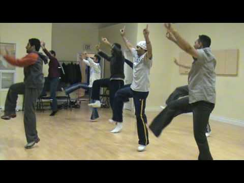 Bhangra Practice -1 with Step Names (Dated:29 Nov. 2008)