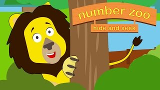 getlinkyoutube.com-Number Zoo Hide and Seek | Animals For Kids | Toddler Fun Learning