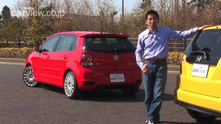 getlinkyoutube.com-コンパクトMT車が熱い! Volkswagen Polo GTI × Honda Fit RS 比較試乗! (五味康隆)