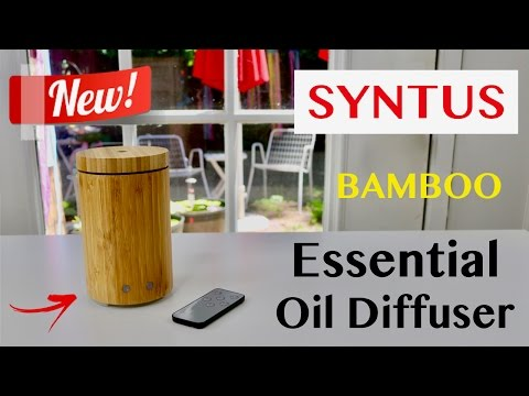 😍 SYNTUS Essential Oil Diffuser - Review ✅