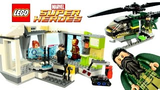 getlinkyoutube.com-LEGO® Iron Man Malibu Mansion Attack Marvel Super Heroes 76007 w/ Pepper Potts & the Mandarin