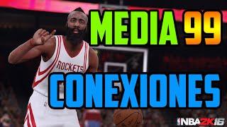 getlinkyoutube.com-NBA 2K16 - Media Mi jugador 99 | Conexiones Mi Carrera - Truco