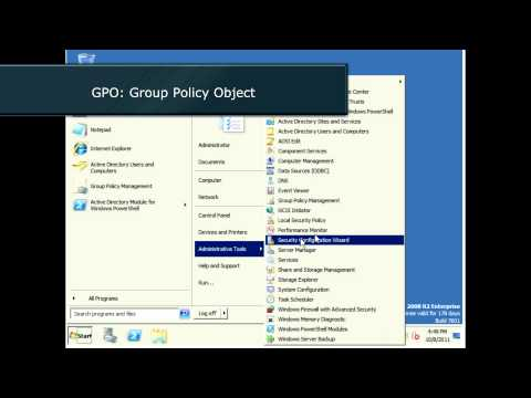 Windows Server 2008: Basic Active Directory tutorial (OUs, groups, users and GPOs)