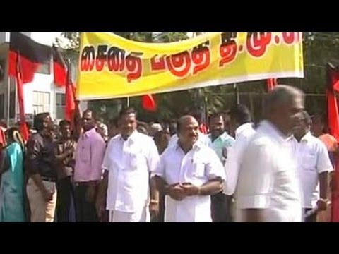 DMK protest: Kanimozhi courts arrest, 50,000 party cadres to follow