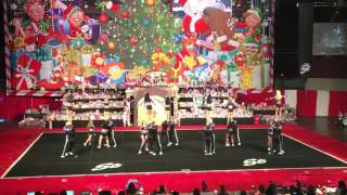 getlinkyoutube.com-Cheer athletics Wildcats 2015 ( Spirit Celebration Christmas Classic ) Day 1