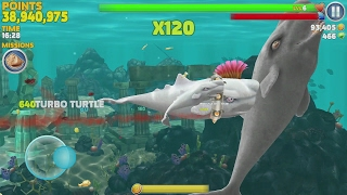 getlinkyoutube.com-Hungry Shark Evolution Moby Dick Android Gameplay #11