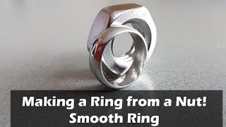 getlinkyoutube.com-How to Make a Ring from a Nut - Smooth Ring