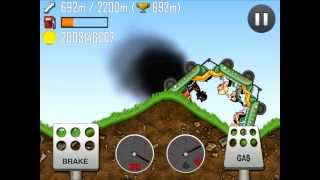 getlinkyoutube.com-Hill Climb Racing Fully Upgraded Kiddie Express on Forest! HD
