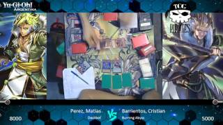 getlinkyoutube.com-TCG Pirates - Top 4 - Matias Perez (Deskbot) vs Cristian Barrientos (Burning Abyss)
